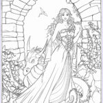 Fantasy Adult Coloring Pages Inspirational Image Gothic Dark Fantasy Coloring Book Fantasy Art Coloring