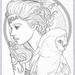 Fantasy Adult Coloring Pages Unique Collection Pin By Val Wilson On Coloring Pages