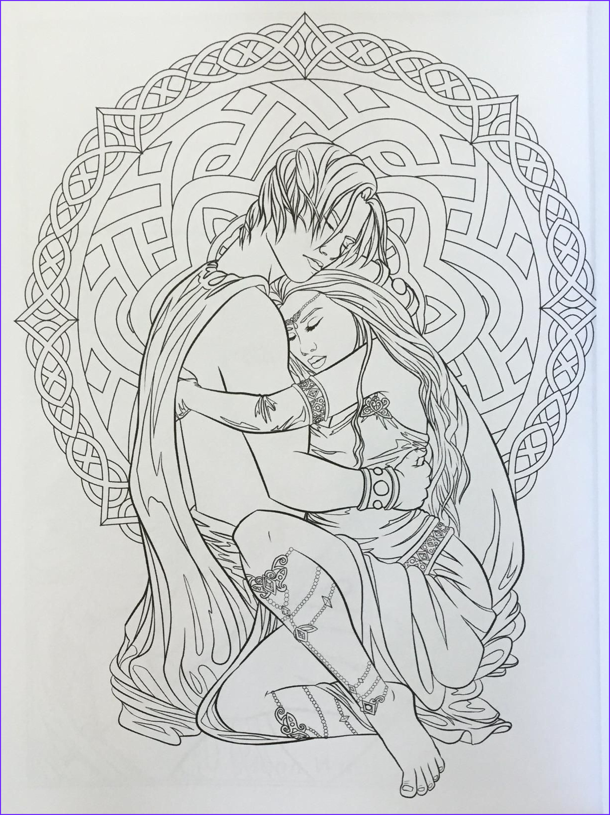 Fantasy Coloring Book Beautiful Images Gothic Dark Fantasy Coloring Book Fantasy Art Coloring