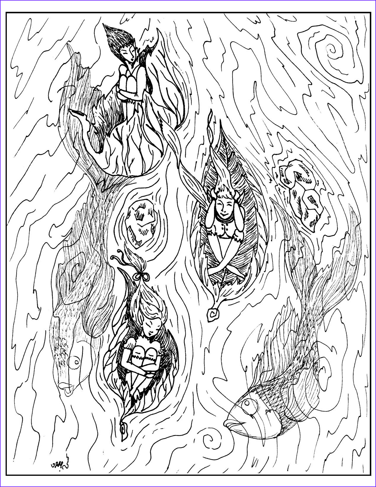 Fantasy Coloring Book Beautiful Photography Detailed Coloring Pages for Adults Printable Fantasy