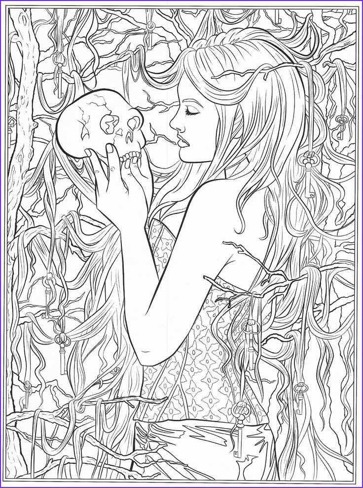 Fantasy Coloring Pages For Adults Cool Gallery 697 Best Coloring Pages To Print Fantasy Images On