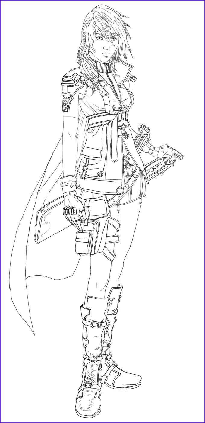 Fantasy Coloring Pages for Adults New Collection Final Fantasy Coloring Pages
