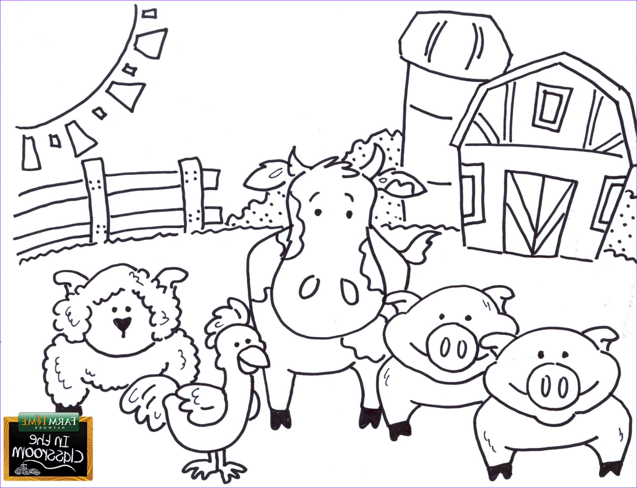 Farm Animal Coloring Pages Awesome Gallery Pin by Caiah Wagner On Agriculture