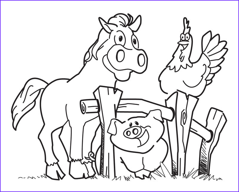 Farm Animal Coloring Pages Cool Photos Free Printable Coloring Pages Of Farm Animals Free