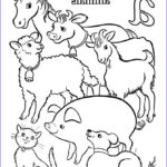 Farm Animal Coloring Pages Inspirational Stock Free Printable Farm Animal Coloring Pages For Kids