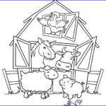 Farm Animal Coloring Pages Luxury Gallery Farm Animal Coloring Pages