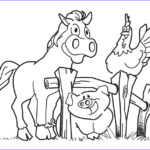 Farm Animal Coloring Pages New Photos Free Printable Farm Animal Coloring Pages For Kids