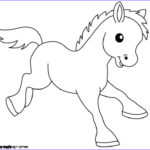 Farm Animal Coloring Pages Unique Photos Baby Animal Drawings For Kids