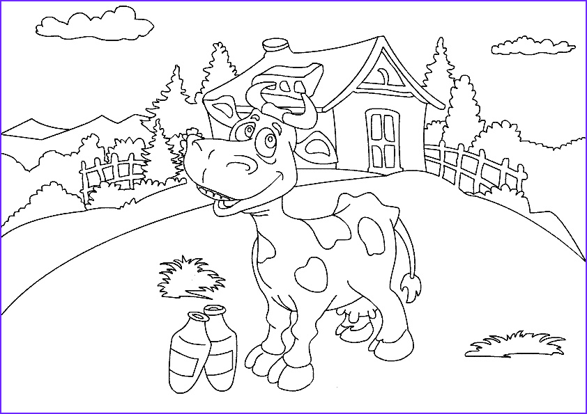 Farm Animals Coloring Sheets Beautiful Photos Farm Animal Coloring Pages