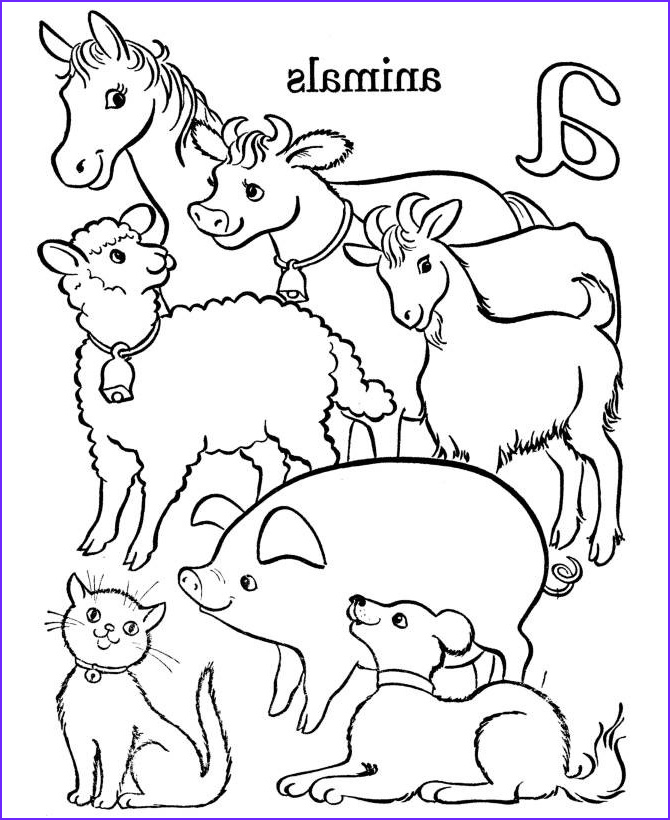 Farm Animals Coloring Sheets Beautiful Stock Free Printable Farm Animal Coloring Pages For Kids