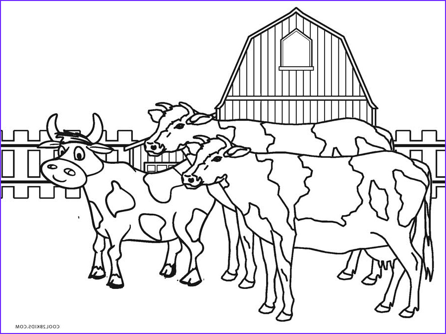 Farm Animals Coloring Sheets Cool Stock Free Printable Farm Animal Coloring Pages For Kids