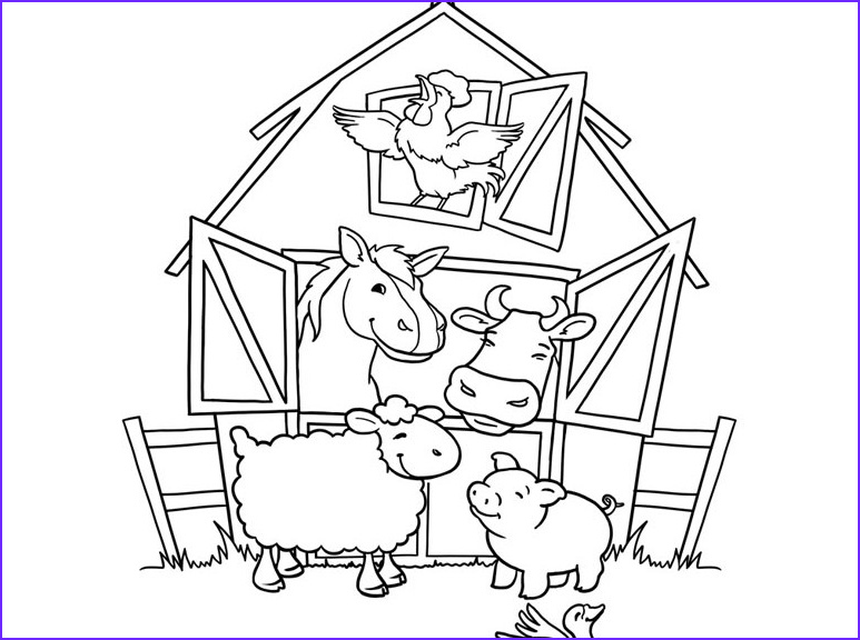 Farm Animals Coloring Sheets Luxury Photography Diy Farm Crafts and Activities with 33 Farm Coloring