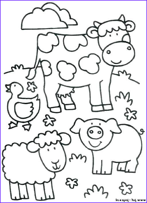 Farm Animals Coloring Sheets New Image Image Result for Farm Animal Coloring Pages for toddlers
