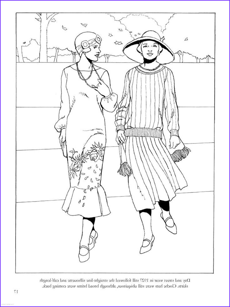 Fashion Coloring Beautiful Gallery 37 Best Historical Fashion Coloring Pages Images On