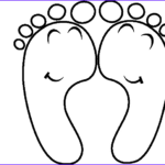 Feet Coloring Pages Beautiful Photos Happy Feet Outline Clip Art At Clker Vector Clip Art