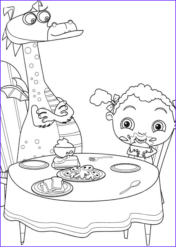 frannys feet coloring pages