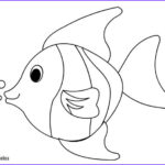 Felt Coloring Pages New Photos Tropical Fish Coloring Page Coloring Page