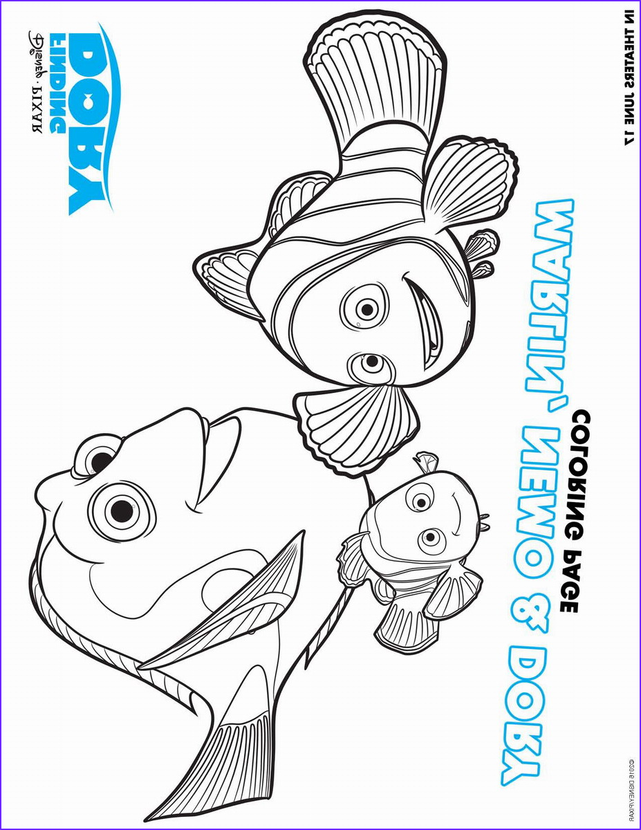 Finding Dory Coloring Beautiful Photography Finding Dory Coloring Pages
