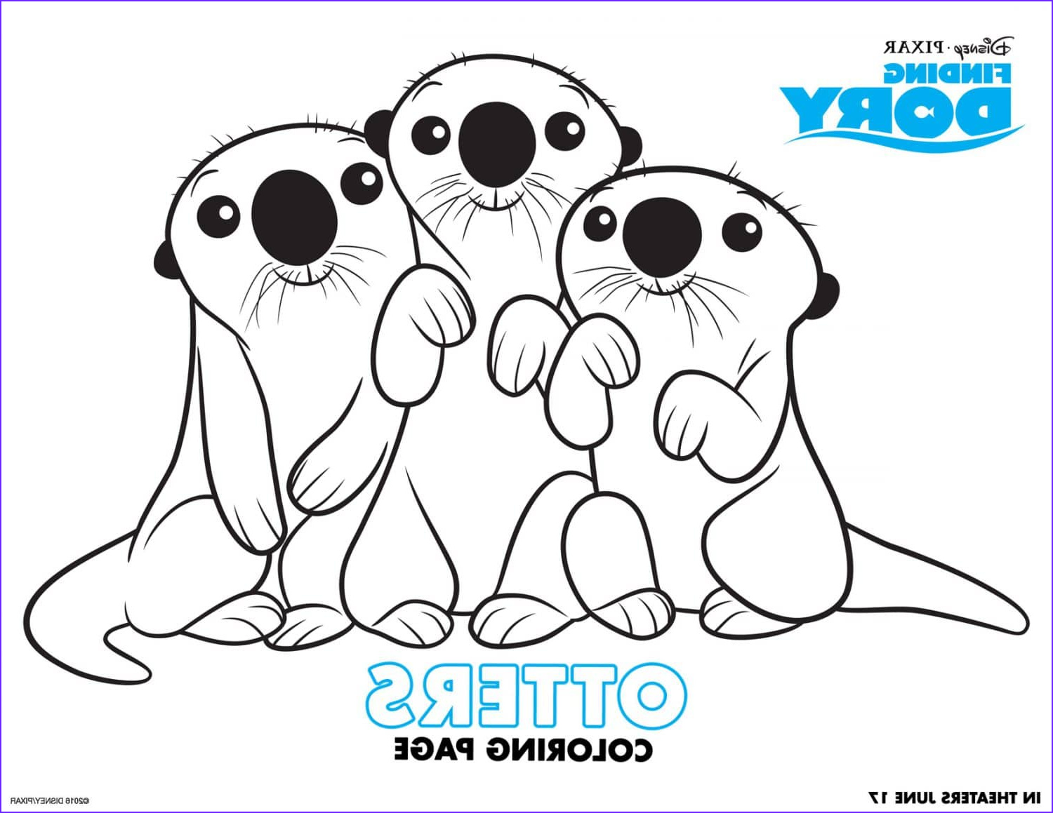 Finding Dory Coloring Beautiful Photos Finding Dory Coloring Pages and Activity Sheets