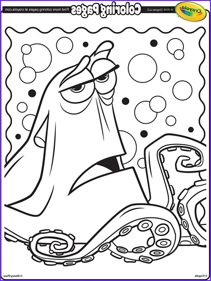 Finding Dory Coloring Best Of Photography Finding Dory Hank the Septopus Coloring Page