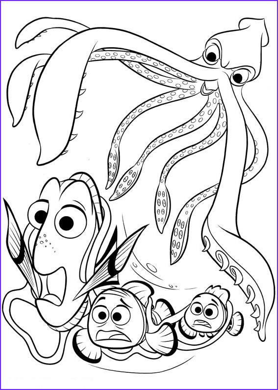 Finding Dory Coloring Best Of Photos Finding Dory Coloring Pages to and Print for Free