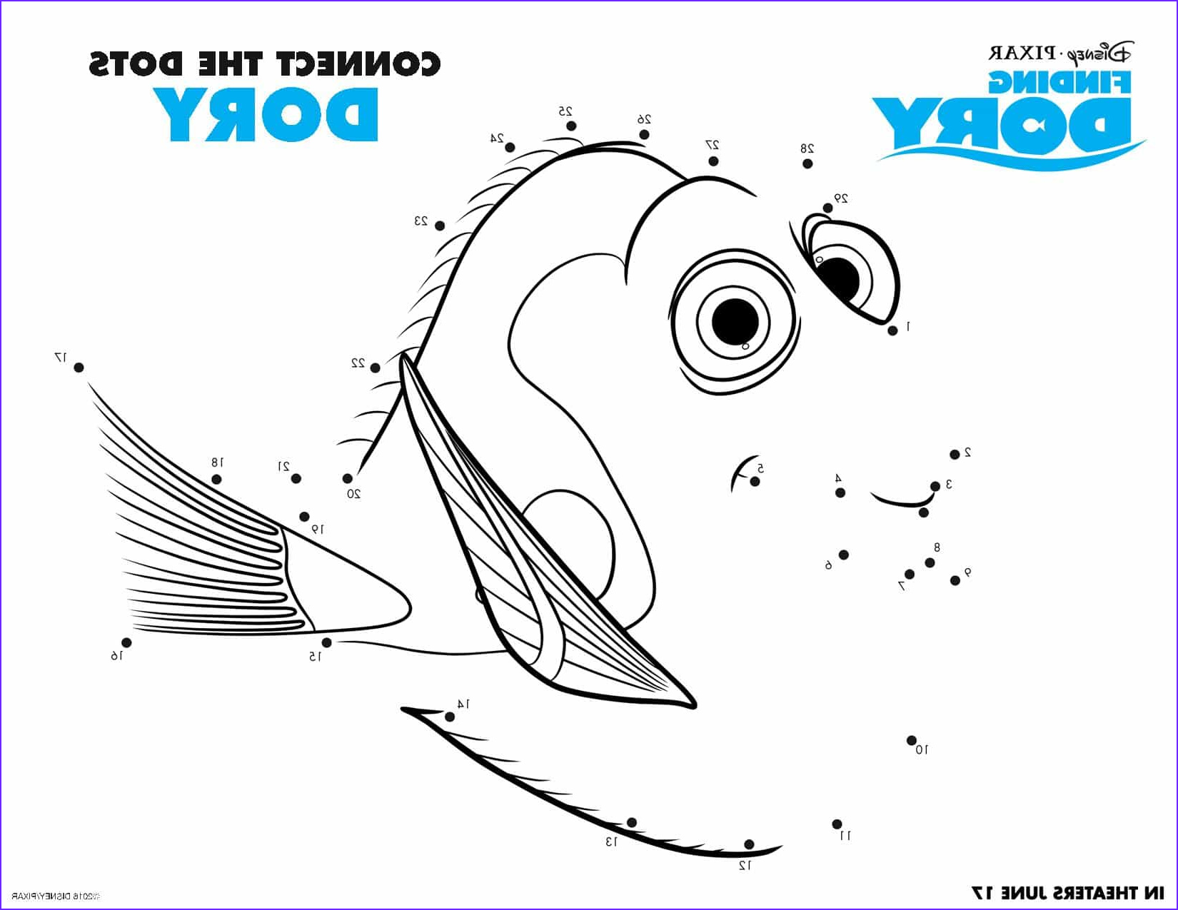 Finding Dory Coloring Best Of Photos Finding Dory Coloring Sheets