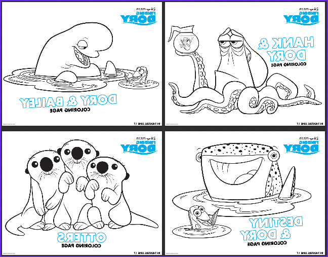 Finding Dory Coloring Best Of Stock Free Finding Dory Coloring Pages Mylitter E Deal at