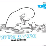 Finding Dory Coloring Book Awesome Collection Finding Dory Coloring Pages And Activity Sheets