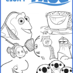 Finding Dory Coloring Book New Photography Finding Dory Hank Craft Finding Dory Crafts