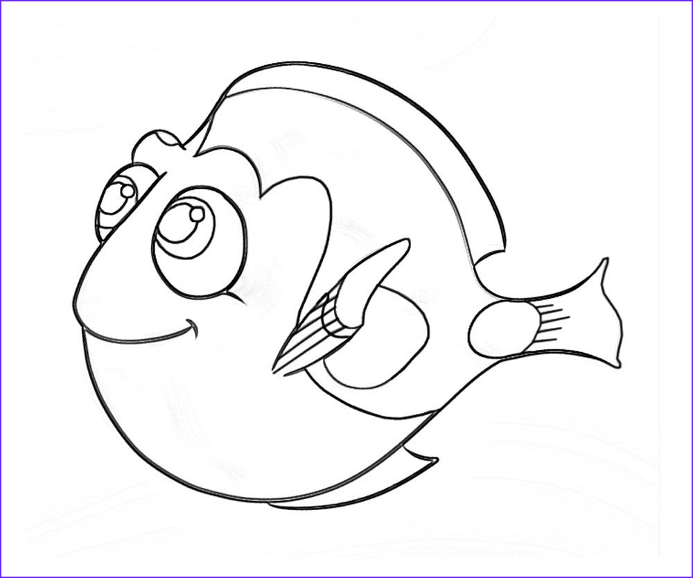 Finding Dory Coloring Inspirational Photos 10 top Finding Dory Printable Coloring Pages