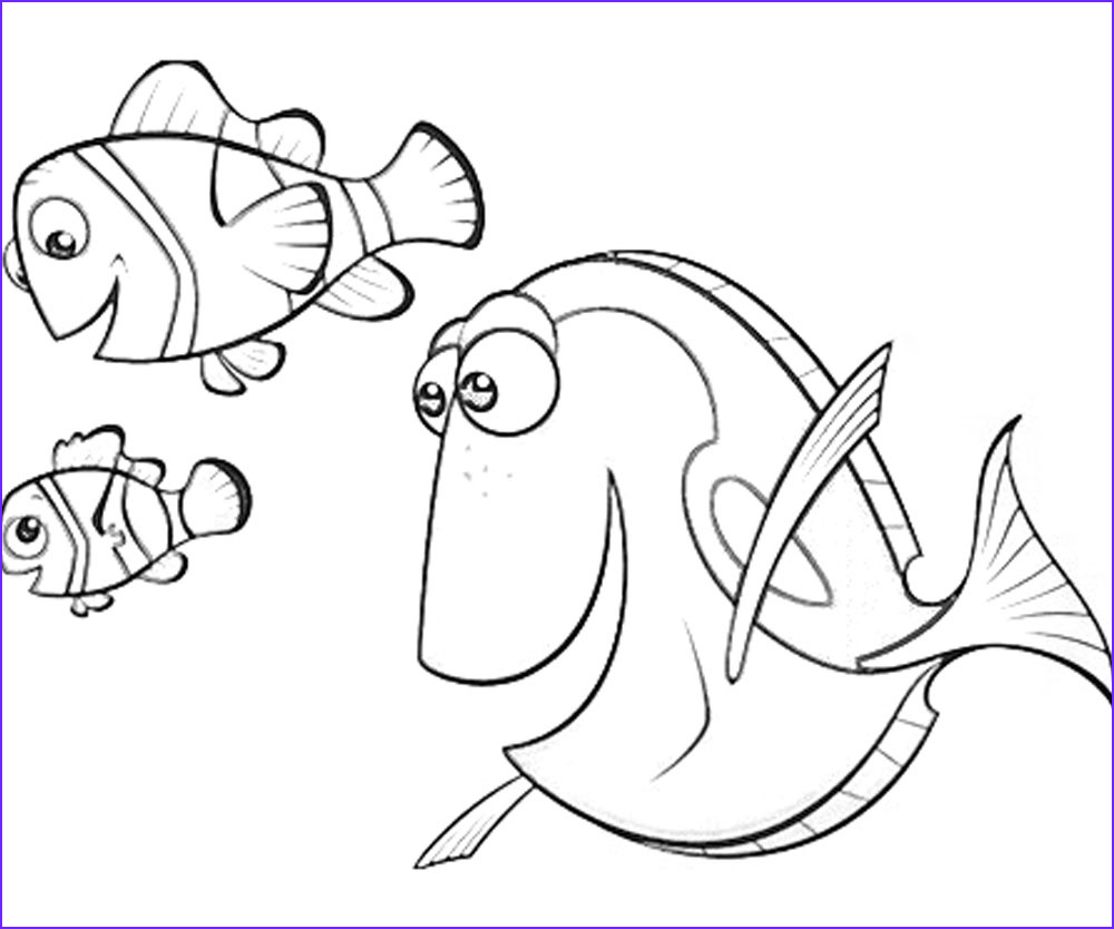 10 top finding dory printable coloring