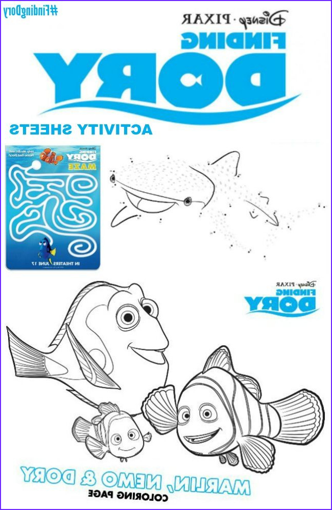 Finding Dory Coloring Unique Photos 1000 Images About Finding Dory On Pinterest