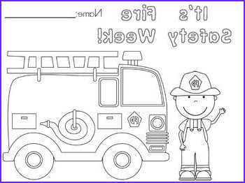 Fire Safety Coloring Pages Luxury Photos Free Fire Safety Week Coloring Page