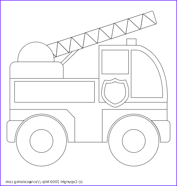 Fire Truck Coloring Pages Awesome Photos Fire Truck Coloring Pages Pdf Free Coloring Pages for Kids