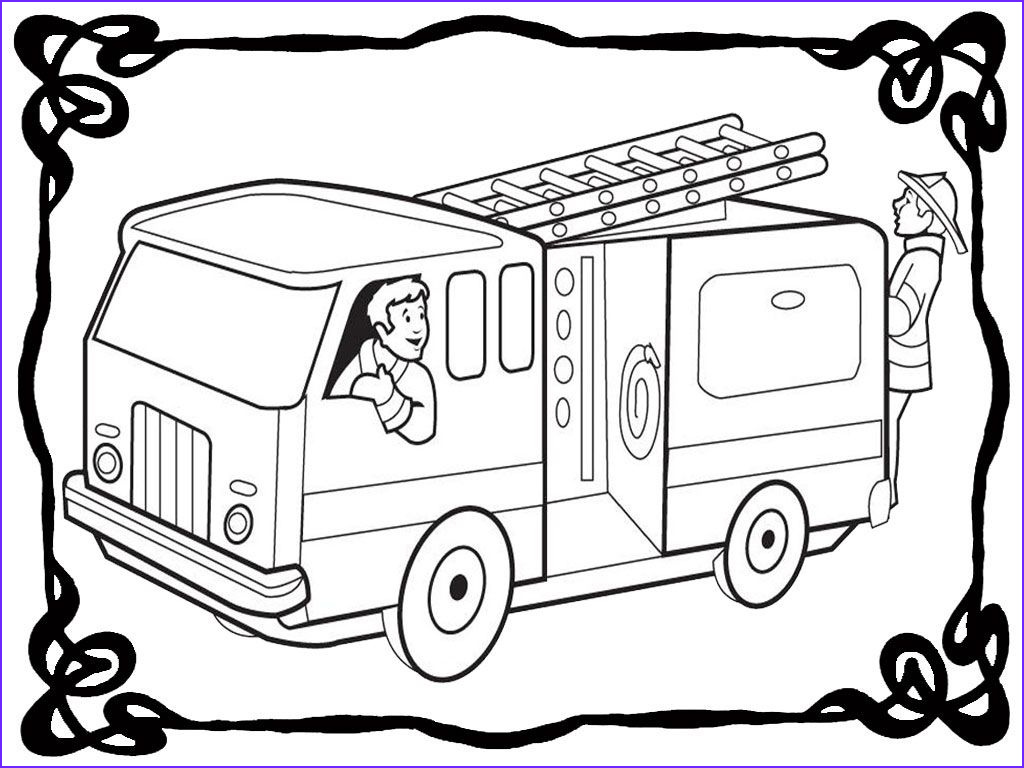 Fire Truck Coloring Pages Beautiful Photography Free Fire Truck Coloring Pages Coloring Home