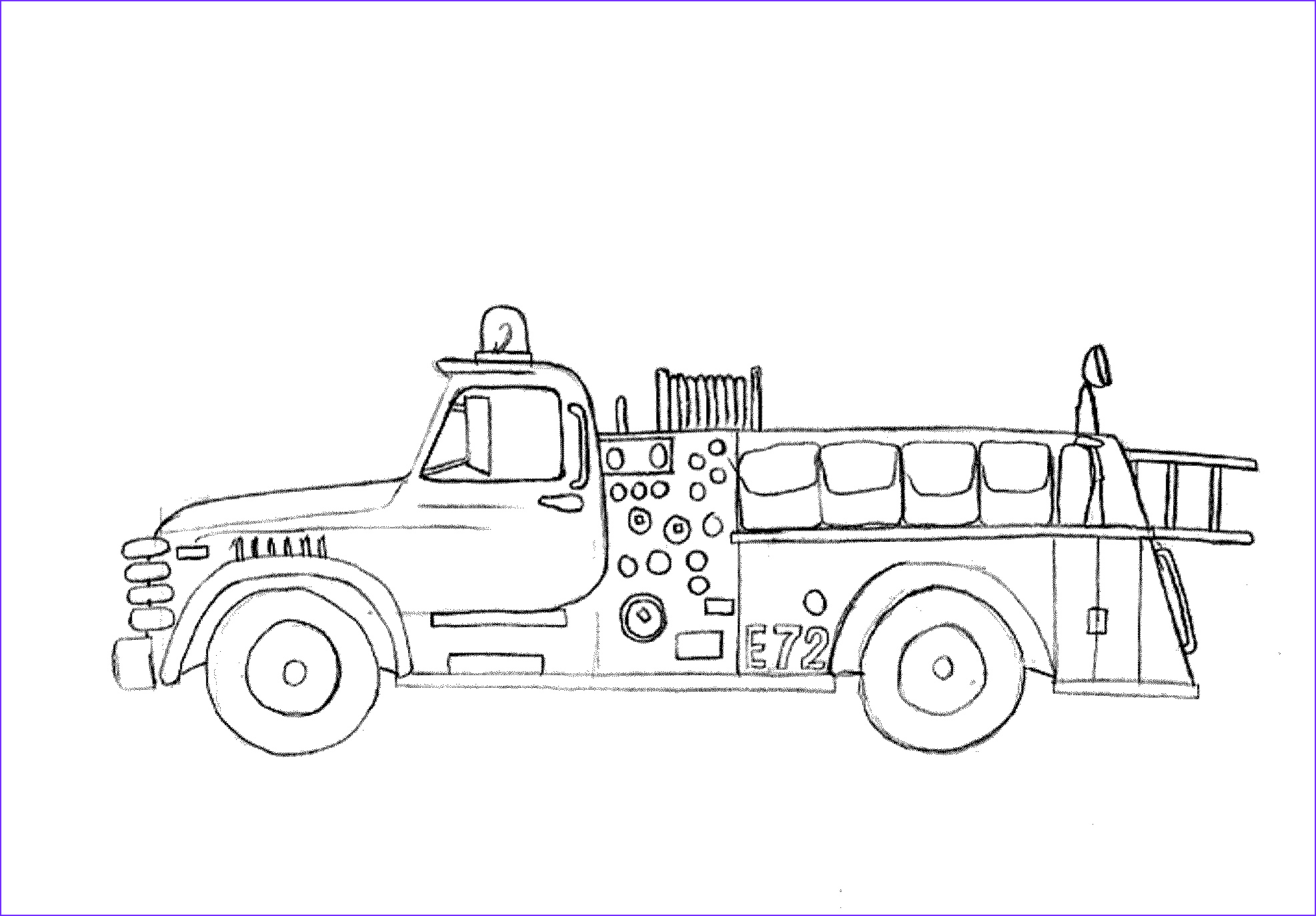 Fire Truck Coloring Pages Best Of Stock Print & Download Educational Fire Truck Coloring Pages