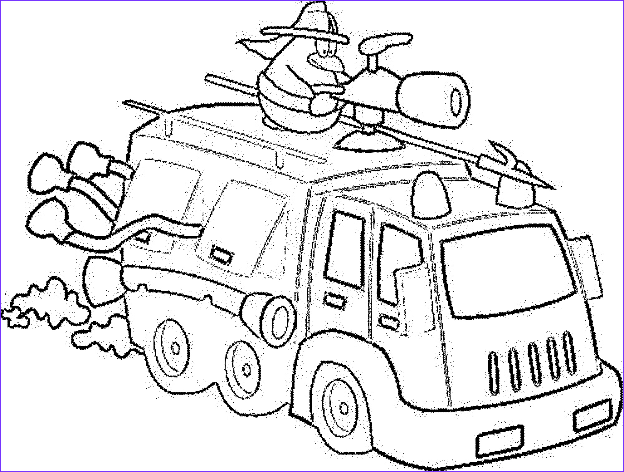 Fire Truck Coloring Pages Cool Image Print & Download Educational Fire Truck Coloring Pages