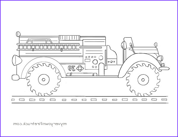 Fire Truck Coloring Pages Cool Photos Coloring Pages – My Very Own Fire Truck