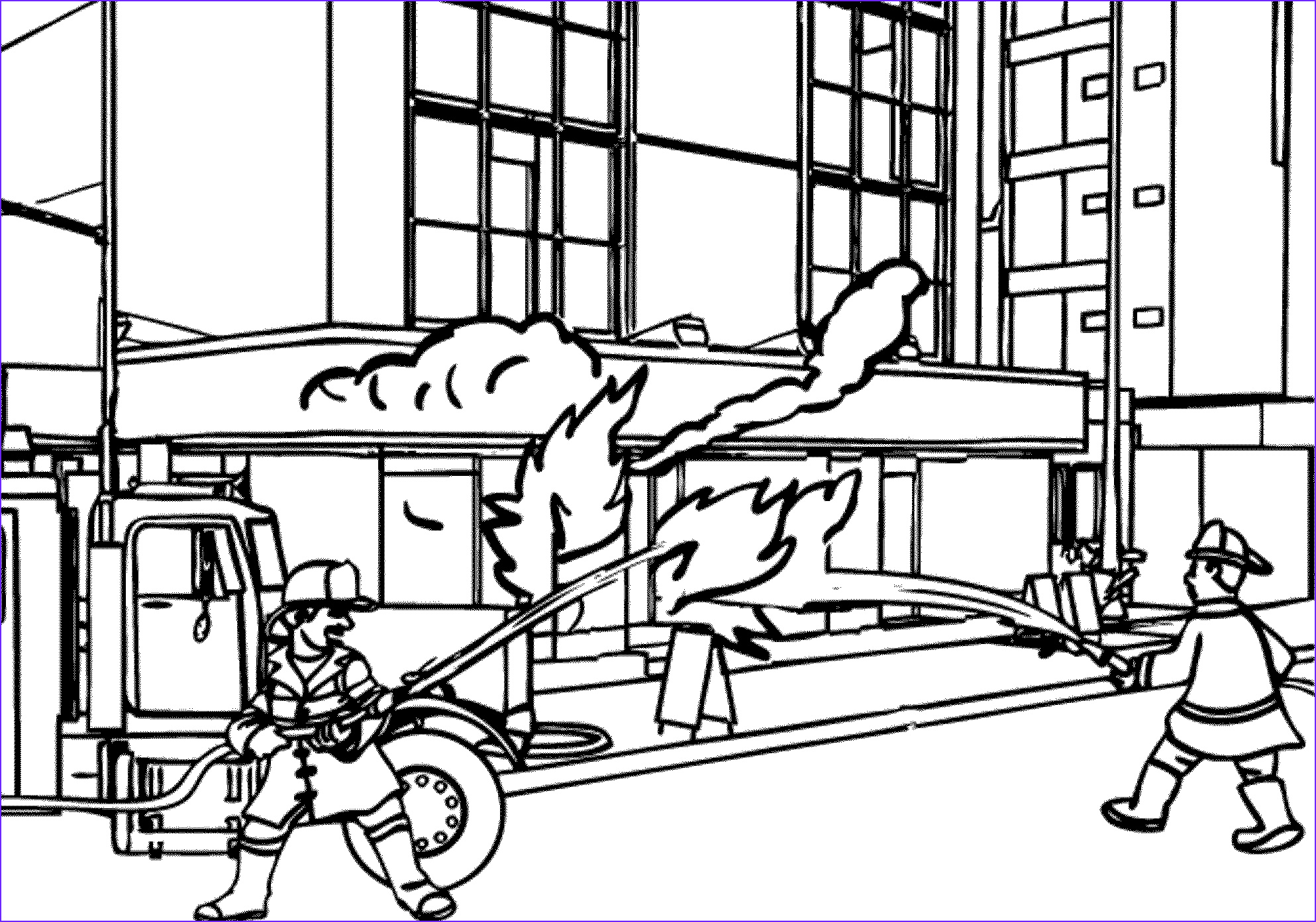 Fire Truck Coloring Pages Elegant Photos Print & Download Educational Fire Truck Coloring Pages