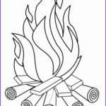 Firefighters Coloring Pages Inspirational Photos Campfire Coloring Page Print Color Fun