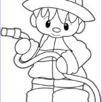 Firefighters Coloring Pages Unique Photography Firefighter Hat Coloring Page Coloring Home