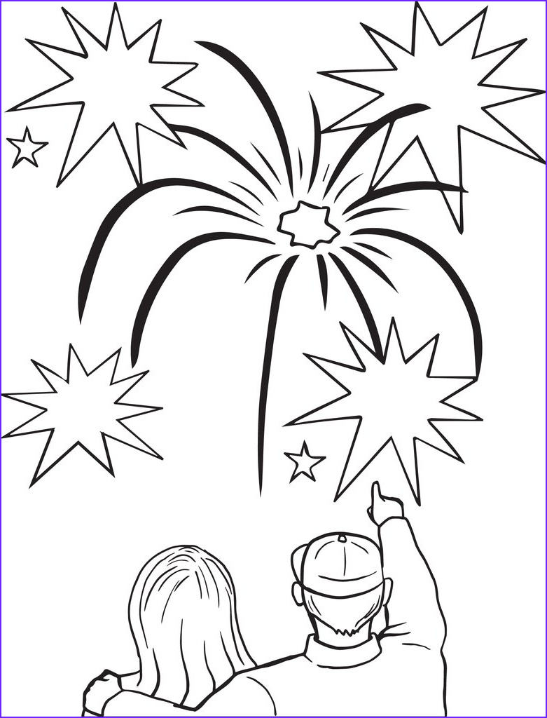 fireworks coloring page 3 a4532