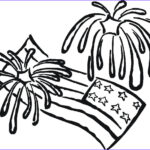 Fireworks Coloring Page Best Of Images Free Printable Fireworks Coloring Pages For Kids