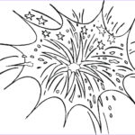 Fireworks Coloring Page Luxury Photography Free Printable Fireworks Coloring Pages For Kids