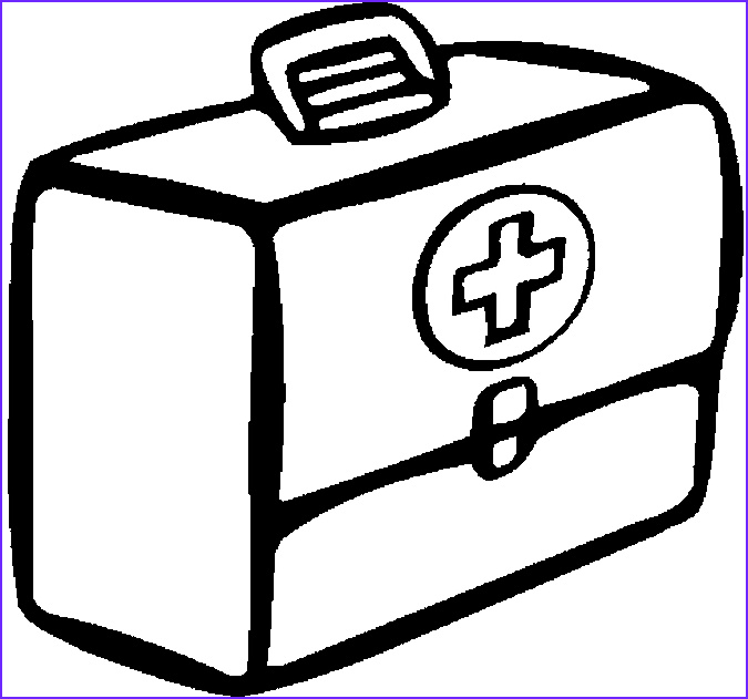 First Aid Coloring Pages Cool Photos 31 Best First Aid and Medical Coloring Pages for Kids
