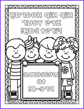 First Day Of Preschool Coloring Pages Awesome Photos Freebie Back to School Coloring Pages for Pre K Through