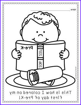First Day Of Preschool Coloring Pages Beautiful Image First and Last Day Of School Coloring Pages