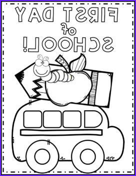 First Day Of Preschool Coloring Pages Beautiful Photos First Day Of School Color Page Texas Twist Scribbles