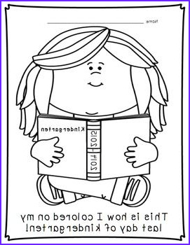 First Day Of Preschool Coloring Pages Inspirational Photos First and Last Day Of Kindergarten Coloring Pages