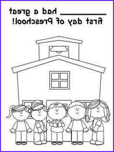 First Day Of Preschool Coloring Pages Luxury Photos Free Back to School Coloring Pages